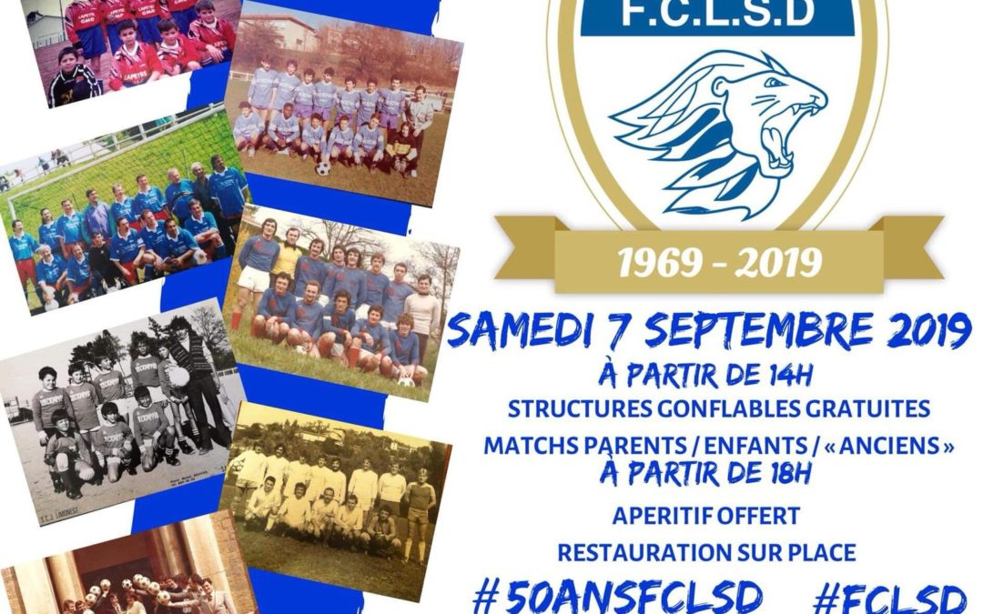 Les 50 ans du Football Club Limonest Saint-Didier