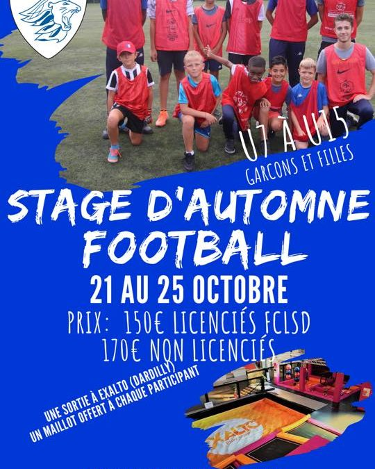 Stage d'Automne FCLSD